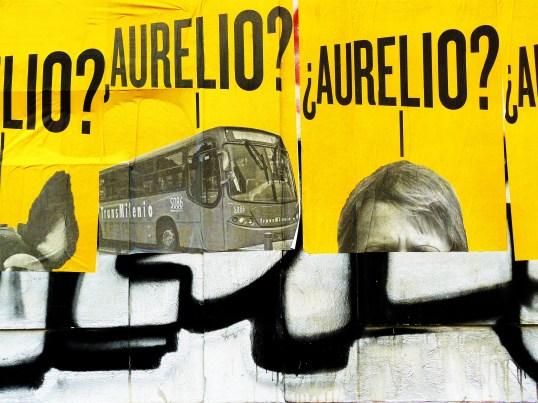 Street Art in Bogotá, Kolumbien: Spiel zwischen Wort und Bild