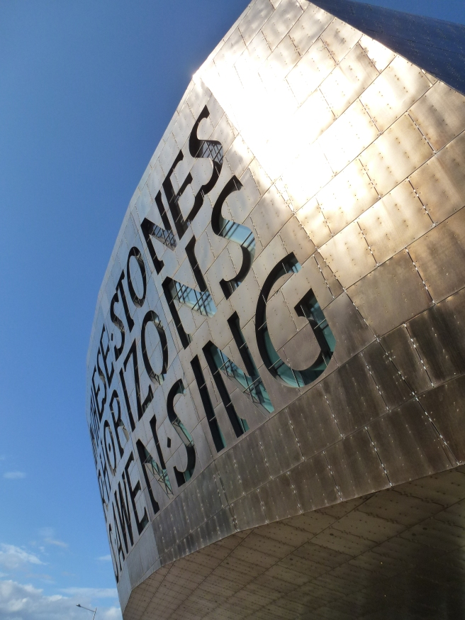 Wales Millenium Centre, Cardiff:  In These Stones Horizons Sing Foto: A.L., 2012